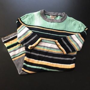H&M Strip Sweater - Size 4